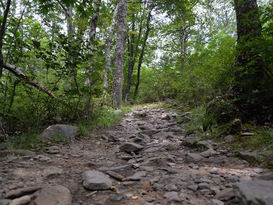 Riprap Trail in the Shenandoah National Park on Sunday,