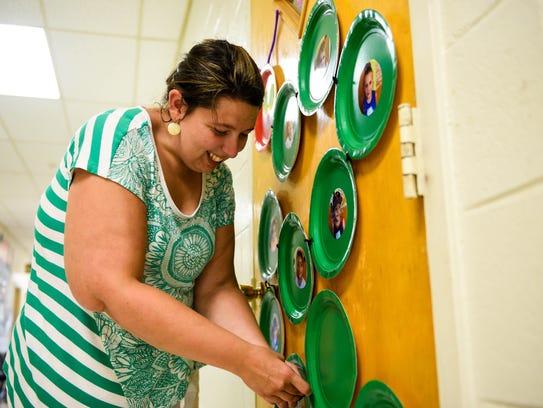 Jessica Haenn, Cumberland Christian School Pre-K teacher,