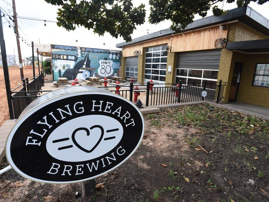 The public drinking amendment will allow patrons to purchase alcohol from establishments within the region, such as Flying Heart Brewing across from the new festival plaza on Barksdale Boulevard, and permit them to walk around the designated area with the drink in hand.