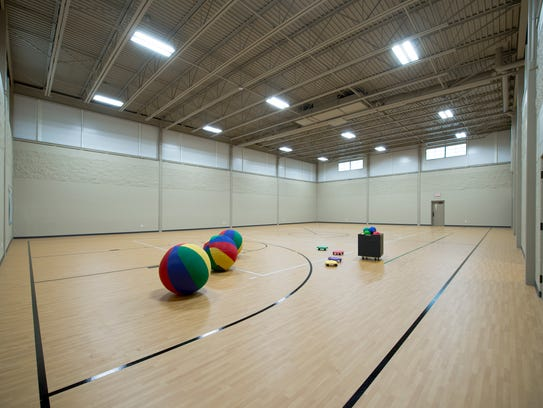 A new gymnasium is part of an expanded Highland Community