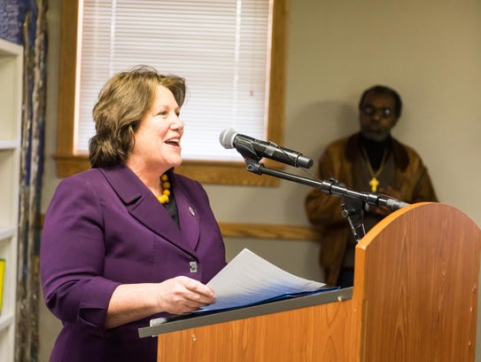 Dr. Allison Blake, Commissioner of the New Jersey Department