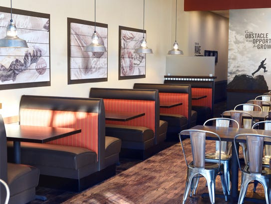 The interior of the new Cousins Subs in Glendale combines