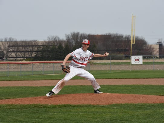 SJCC's Logan Black led the team with 41 1/3 innings