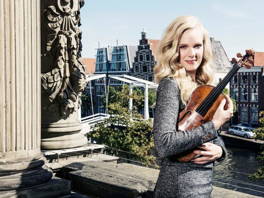 Violinist Simone Lamsma will be the featured performer