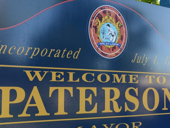 Paterson welcome sign
