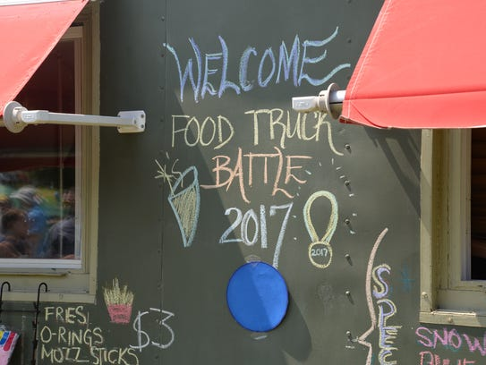 The third annual Virginia Food Truck Battle at the