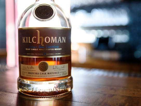 Kilchoman Scotch whisky. This is the first new Scottish