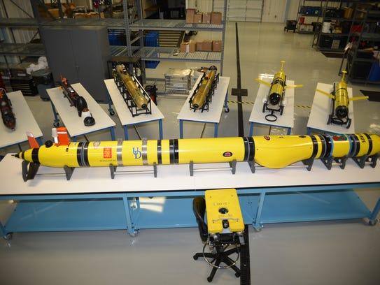 Autonomous underwater vehicles (AUVs), a robotic technology,