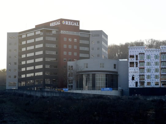 Construction continues on the Regal Entertainment Group's