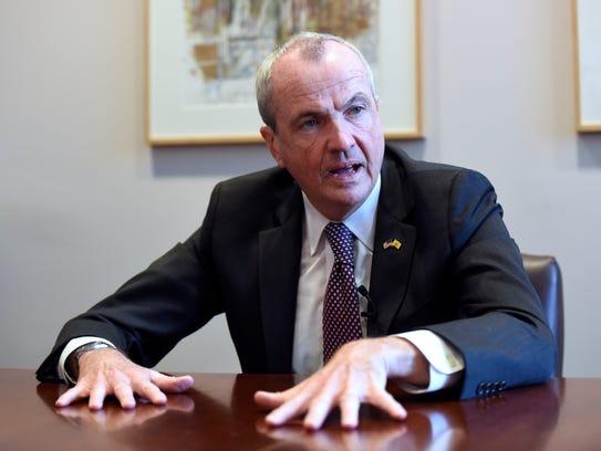 Gov.-elect Phil Murphy speaks to NorthJersey.com's