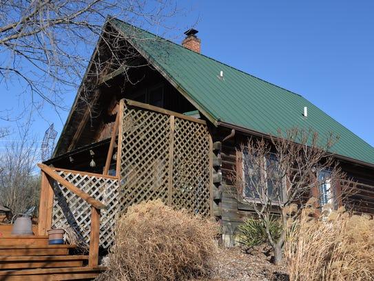 Ryan Blosser's home outside of Churchville on Jan.
