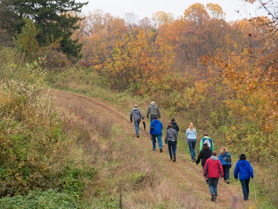 A group of Wilmington residents take regular hikes