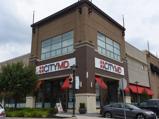 City MD in the Promenade Shops on Route 3.