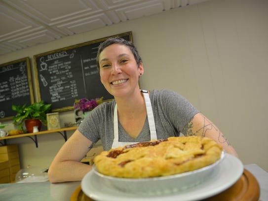 Jane Firkin of Firkin Pie in Staunton, which went from