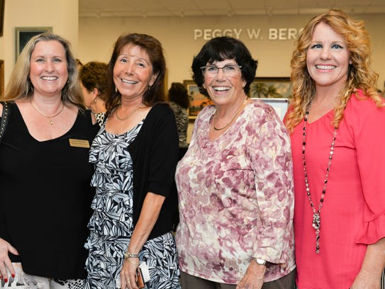 Laura Murphy, left, Lori Fry, Cleo Stern and Lisa Nelson