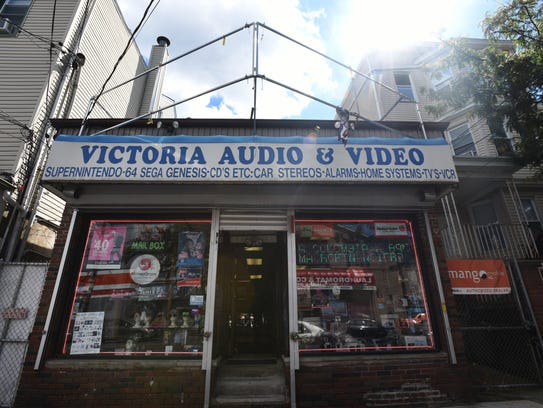 The video store where the murder took place.