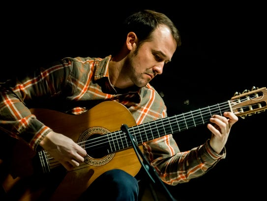 Classical guitarist Gyan Riley will perform Wednesday