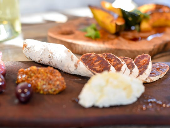Vermont Salumi makes its products, including this chorizo,