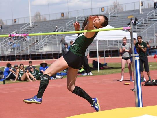 Autumn Gardner set a CSU record in the women's high
