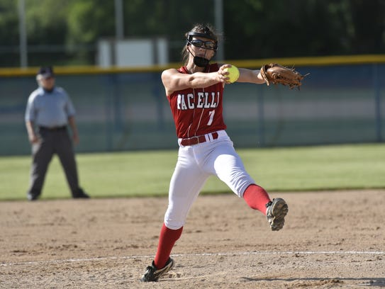 Junior Karah Kluck forms a formidable 1-2 punch in