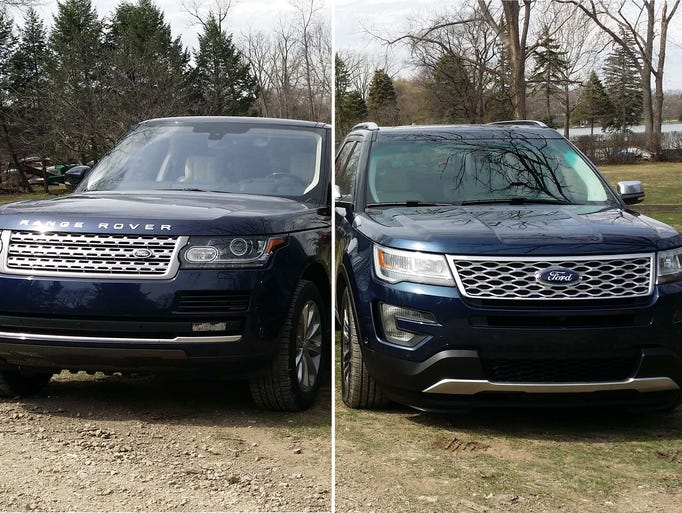 The 2016 Range Rover HSE Turbo-diesel-V-6 (Td6), left,