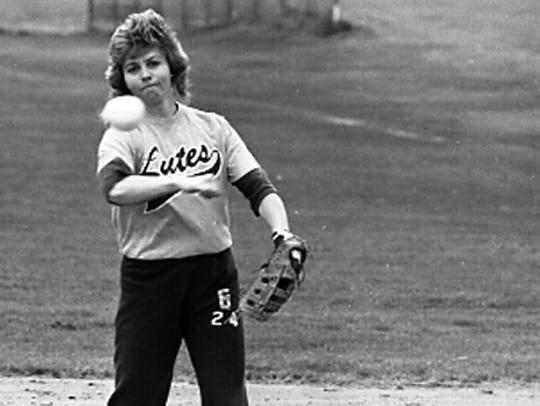 Tennessee softball co-head coach Karen Weekly was the