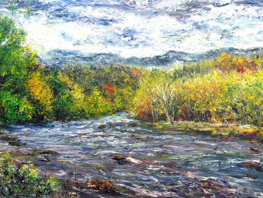 The Tuckaseege River, also spelled Tuckaseigee, is