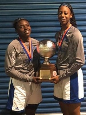 Red River's Makayia Hallmon and Evangel's Tiara Young will be among the participants in next weekend's prestigious event in Denham Springs.