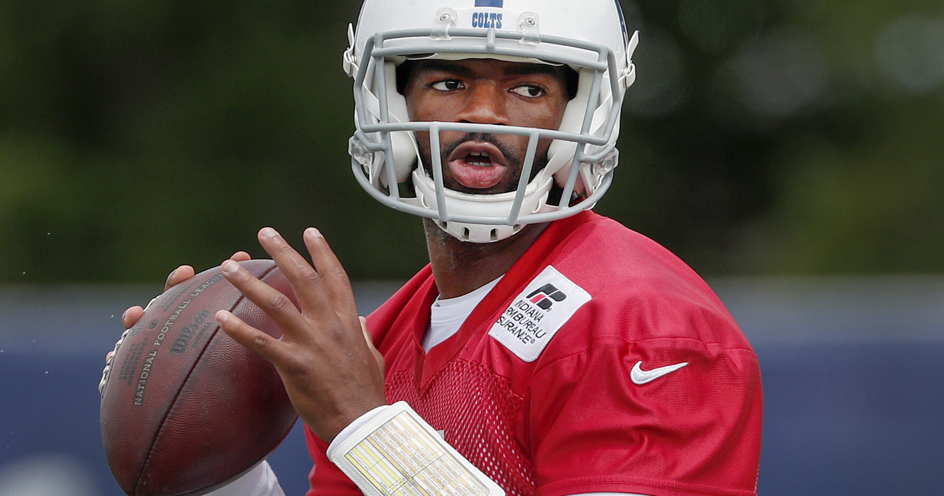 Colts observations  Jacoby Brissett off to stellar start 9481499ea