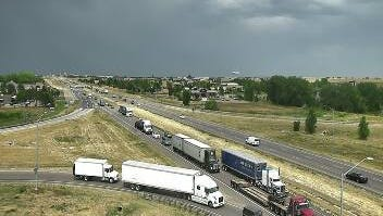 Traffic near U.S. Highway 34 was paralyzed for hours Thursday afternoon south of Fort Collins about 1:45 p.m.