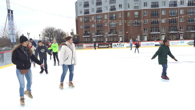 The Riverfront Rink is open until March 1.