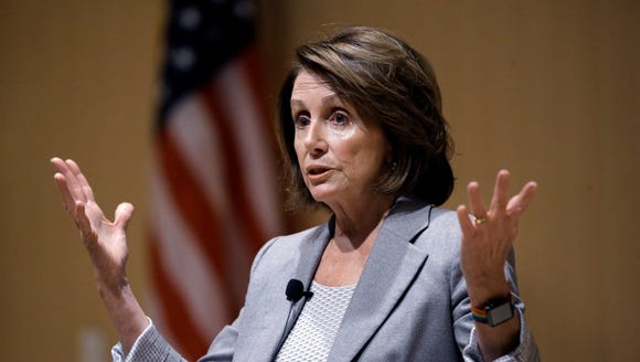 House Minority Leader Nancy Pelosi of Calif., speaks