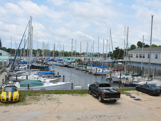 FWC wrote 15 citations last month at three marinas - Eau Gallie Yacht Basin, Harbor City Marina, Eau Gallie Boat Works Marina - for boat owners emptying their waste into the Eau Gallie River. In photo is Eau Gallie Yacht Basin & Boat Works