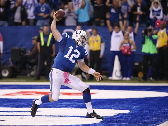 Andrew Luck's escapability has made him even more dangerous.