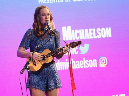 Ingrid Michaelson performing on Sept. 24, 2016, in New York.
