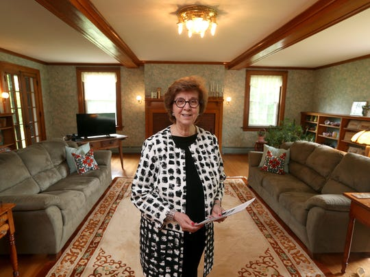 Karen Hopkins is selling this 8,500 historic house