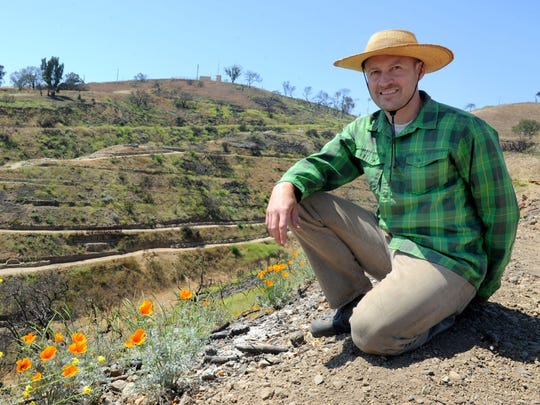 Joe Cahill, executive director of Ventura Botanical