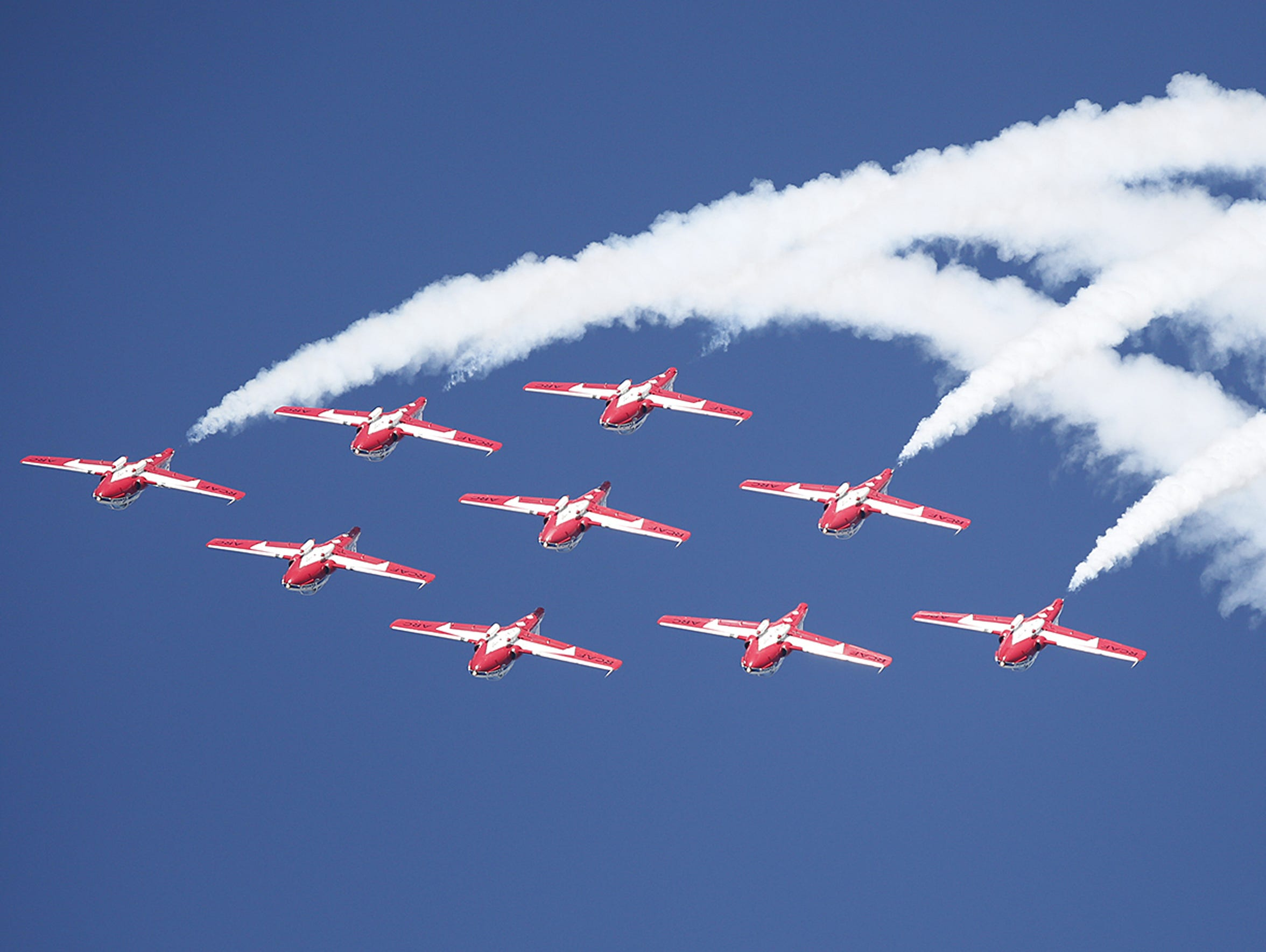 The skies above Oshkosh will be a colorful sight during