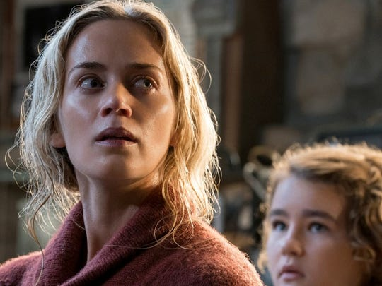 "Emily Blunt in ""A Quiet Place."