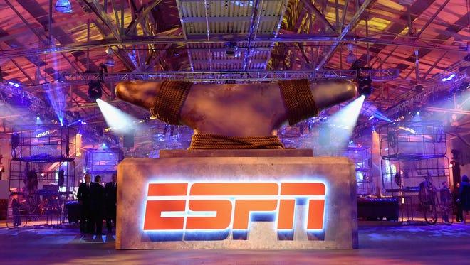 ESPN's staff underwent layoffs on Wednesday.