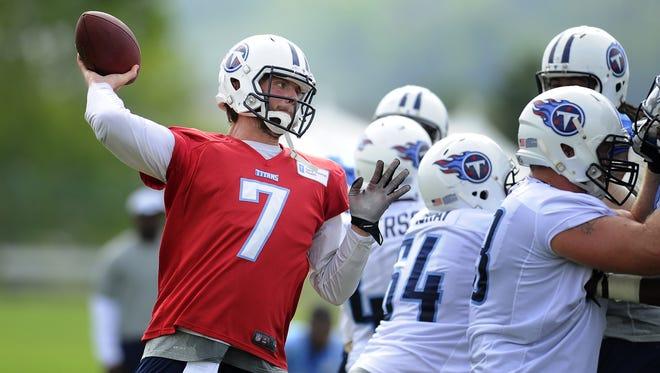 Titans quarterback Zach Mettenberger