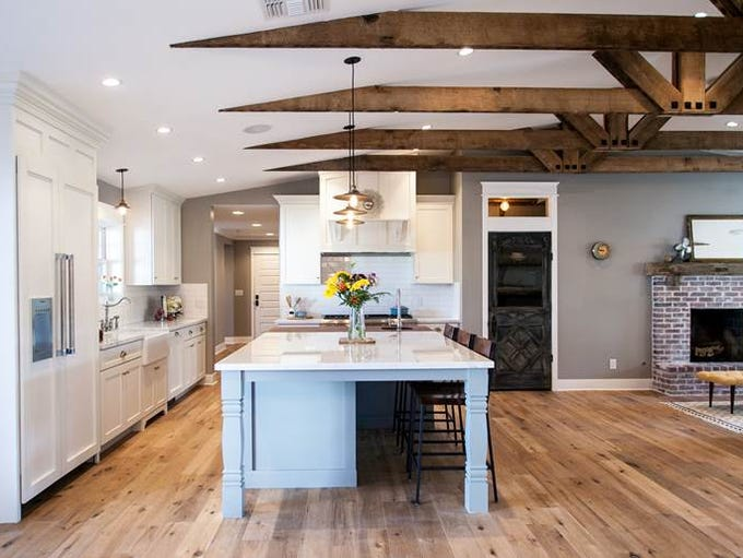 This home remodeled by Chris Liles and Austin King