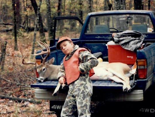 Hunting is a past time enjoyed by Mr. Echols growing