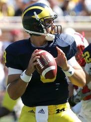 Former Michigan quarterback Nick Sheridan