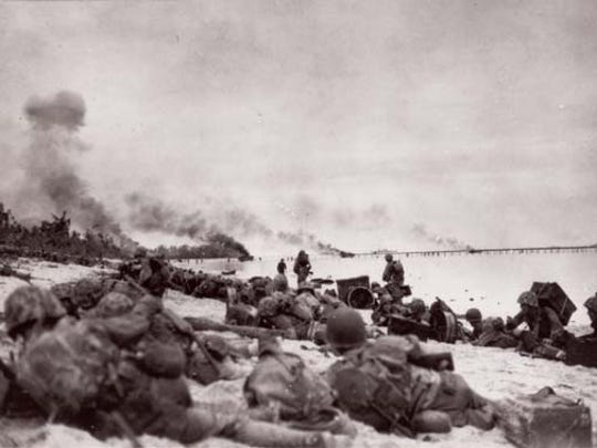 The Battle of Peleliu Island left nearly 10,000 Americans killed or wounded.