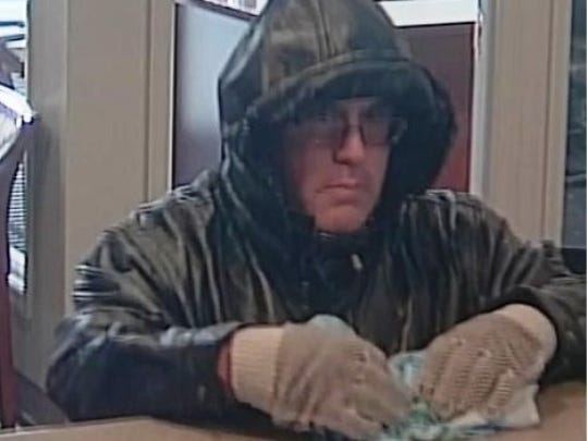 This man is accused of robbing a bank in Clermont County Monday morning.