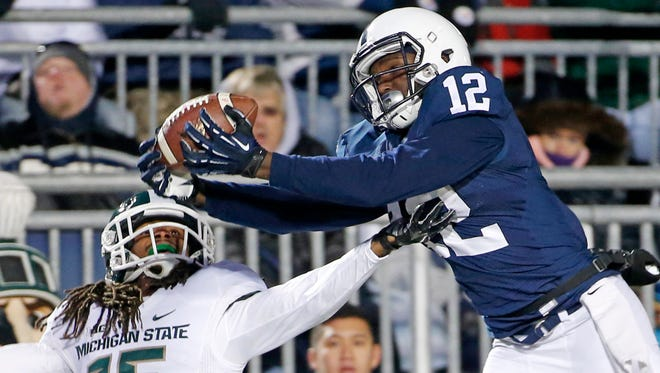 Penn State wide receiver and Middletown High graduate Chris Godwin