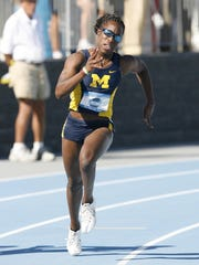 Bettie Wade was a Big Ten champion heptathlete and