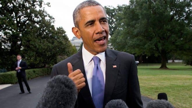 President Obama praises the Secret Service.
