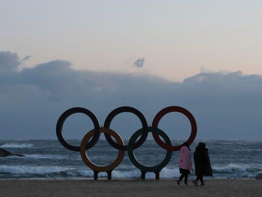 AP SOUTH KOREA 2018 PYEONGCHANG OLYMPICS S OLY KOR
